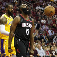 James Harden bags incredible 50-point triple-double as Rockets see off LeBron's Lakers