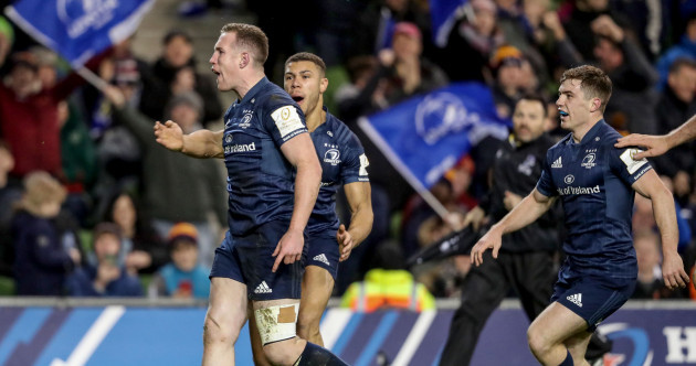 Sexton on song as Leinster hit their straps to blitz Bath at the Aviva