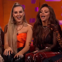 Graham Norton asked Little Mix to sing Wings in Japanese last night, and they did