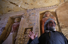 Archaeologists unearth 4,400-year-old tomb of Egyptian high priest