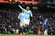 Jesus double sees City return to the top of the table with win over Everton