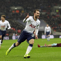 Eriksen strikes late to hand Spurs victory over stubborn Burnley