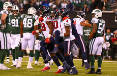 Hopkins delivers 14-yard touchdown as Texans move closer to NFL play-off berth