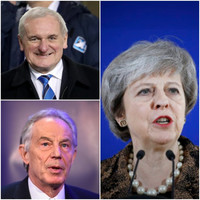 Bertie Ahern and Tony Blair have both ripped into Theresa May's handling of Brexit