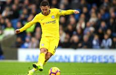Sensational Eden Hazard inspires Chelsea to hard-fought win