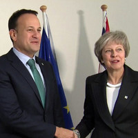 A UK newspaper said that Theresa May 'loathes' Leo Varadkar, but Simon Coveney says it's 'nonsense'