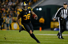 Steelers stay ahead as Patriots lose AFC's second seed