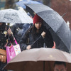 It's going to be a wet and windy week with a risk of spot flooding