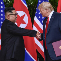North Korea condemns US sanctions, says they could 'block the path to denuclearisation'
