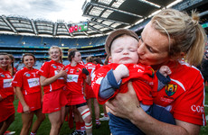 'I never thought I'd be back playing camogie so it was lovely to bring him and say he got onto Croke Park'