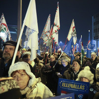 Hungarian state broadcaster hit by wave of protests