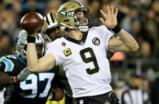 Saints move closer to securing home advantage in NFL playoffs after edging out Panthers