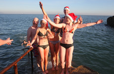 Planning on a Christmas day swim? Here's how to stay safe