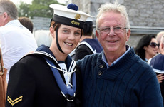 'Happy Christmas Dad, I love you lots': Katie O'Leary of the Naval Service on spending December 25 at sea