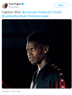 'Caption this!' Paul Pogba posts - and deletes - cryptic message following Mourinho's sacking