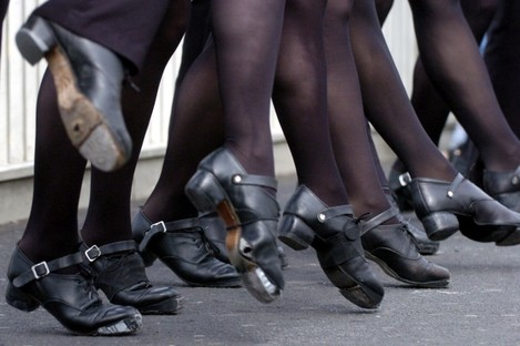 Irish dancing: it's carnage out there.