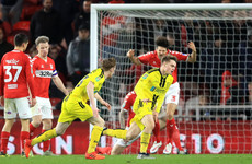 Joy for Irish pair, as Burton shock Middlesbrough to reach League Cup semi-finals