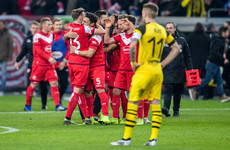 Bundesliga leaders Dortmund fall to sensational loss against relegation candidates