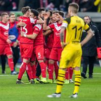 Bundesliga leaders Dortmund fall to sensational loss against relegation candidates