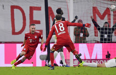 Late Ribery winner grabs nervy victory as Bayern close the gap at the top