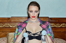 The importance of Rachel McAdam's viral breast pump pic can not be understated
