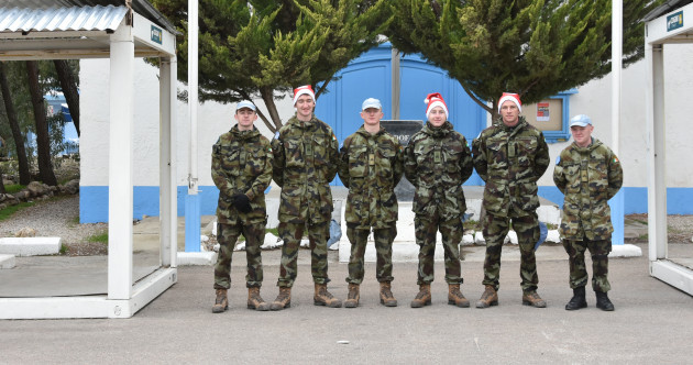 'Love and miss you': Christmas messages from Irish soldiers serving abroad