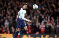 Police and Arsenal launch investigation after Dele Alli struck on head by bottle