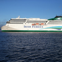€144 million WB Yeats cruise ferry sails into Dublin Port