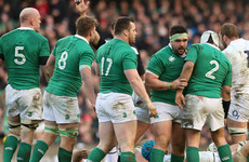 'There's a lot of guys that are playing good rugby in my position in Ireland'