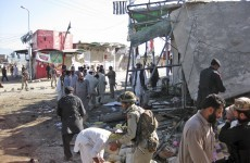 Suicide bombing in Pakistani market kills 20