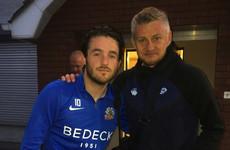 The striker from Dublin whose side gave Solskjaer a European scare