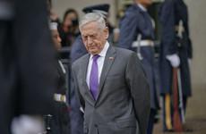 US defence secretary Mattis has resigned