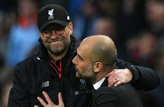 'No sign of weakness' in Guardiola's Manchester City - Klopp