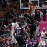 Miami snap Houston's five-game winning streak while LA Clippers edge out Mavericks