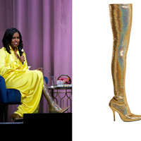 Here's how much Michelle Obama's viral boots will set you back