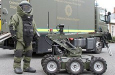 Viable explosive device made safe in Dublin
