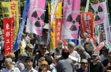 Japan shuts down last nuclear reactor amid protests