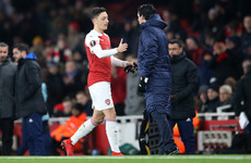 'We need Mesut Ozil': Unai Emery insists midfielder has a future at Arsenal