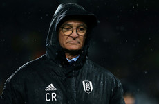 'I need a clean sheet like I need pasta': Ranieri nervous about Fulham's survival hopes