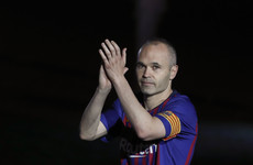 'I hope I can convey what I have learned and what I feel for this club': Iniesta outlines Barca coaching ambition