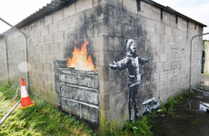 Welsh steel town forced to install traffic wardens following appearance of Banksy work at car garage