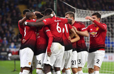 Perfect start for Solskjaer as Man United romp to victory with five goals against Cardiff
