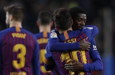 Messi strike sinks Celta Vigo as Barca restore their La Liga lead
