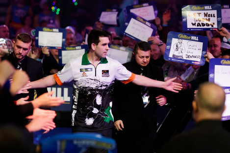O'Connor bowed out at Ally Pally.