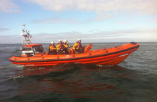 Bull rescued by RNLI after falling down steep cliff in Galway