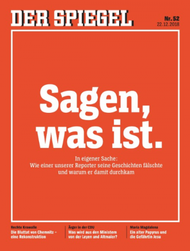 Der Spiegel to file criminal complaint against reporter who faked stories