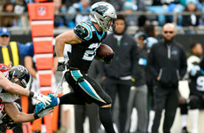 Carolina Panthers star breaks single-season record for most receptions by running back