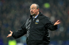 Benitez admits Newcastle will need 'a miracle' to avoid relegation