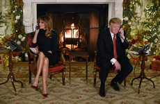 Watch: Trump tells boy that believing in Santa at the age of seven is 'marginal'