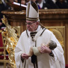 Pope Francis attacks 'insatiable greed' in world and calls for 'fraternity' among people